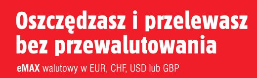 Załóż eMax walutowy